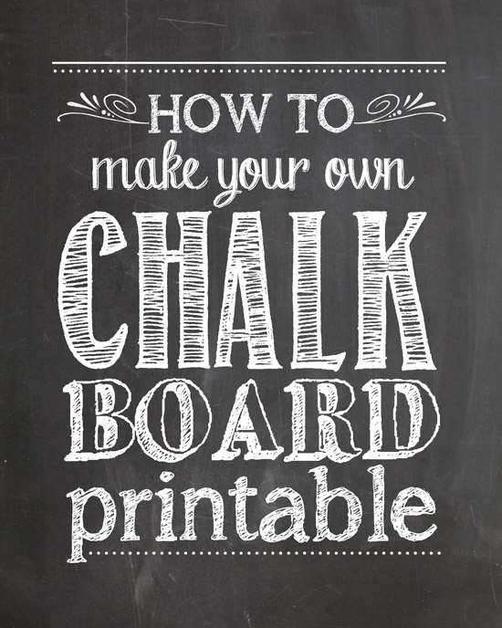Free chalkboard clipart birthday graphic library library How to Make Your Own Chalkboard Printables - How to Nest for Less™ graphic library library