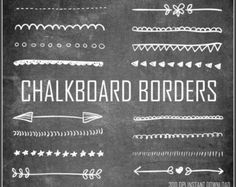 Free chalkboard clipart birthday picture library download Free Chalkboard Clip Art Graphics | Clip art, Chalkboards and Graphics picture library download