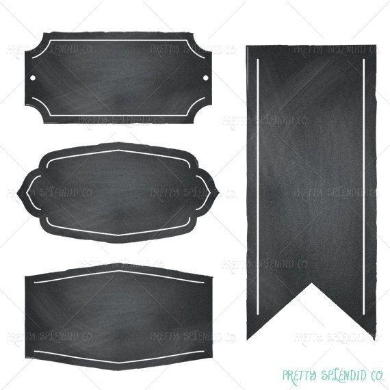 Free chalkboard frames clipart clipart black and white Gallery For Chalkboard Frame Clipart - Free Clipart clipart black and white