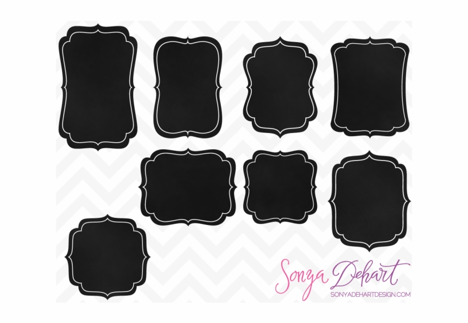 Free chalkboard frames clipart clipart black and white library Clip Art Chalkboard Frames - Clip Art Free Chalkboard Frame ... clipart black and white library