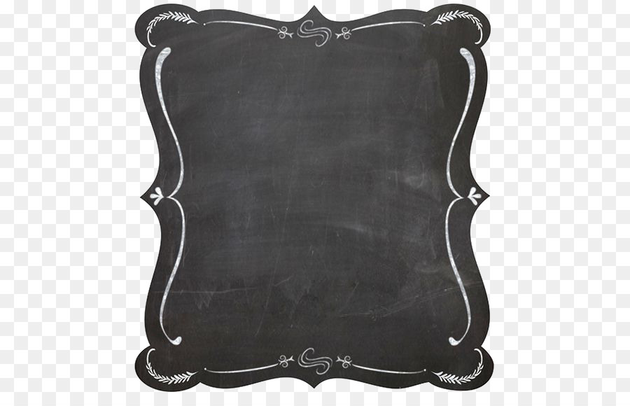 Free chalkboard frames clipart clip download Black And White Frame png download - 564*564 - Free Transparent ... clip download