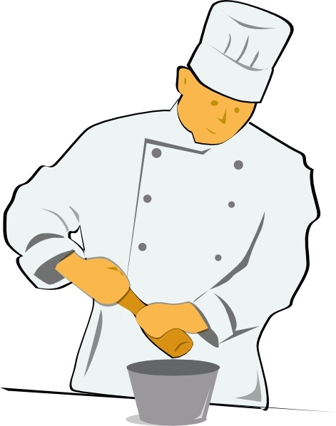 Free chef clipart image freeuse Chef clip art Free vector in Open office drawing svg ( .svg ... image freeuse