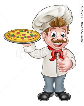 Free chef peru clipart images image transparent Pizza Chef Cartoon Character - Stock Illustration [31242970] - PIXTA image transparent