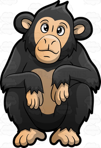 Free chimpanzee clipart vector free library Chimp Clipart | Free Images at Clker.com - vector clip art online ... vector free library