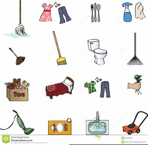 Free chore images clipart image library download Free Printable Chore Clipart | Free Images at Clker.com - vector ... image library download