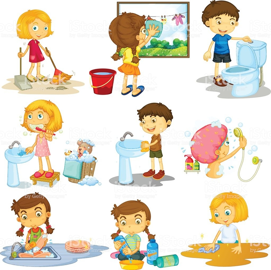 Free chore images clipart royalty free download Download household chores clipart Housekeeping Clip art ... royalty free download