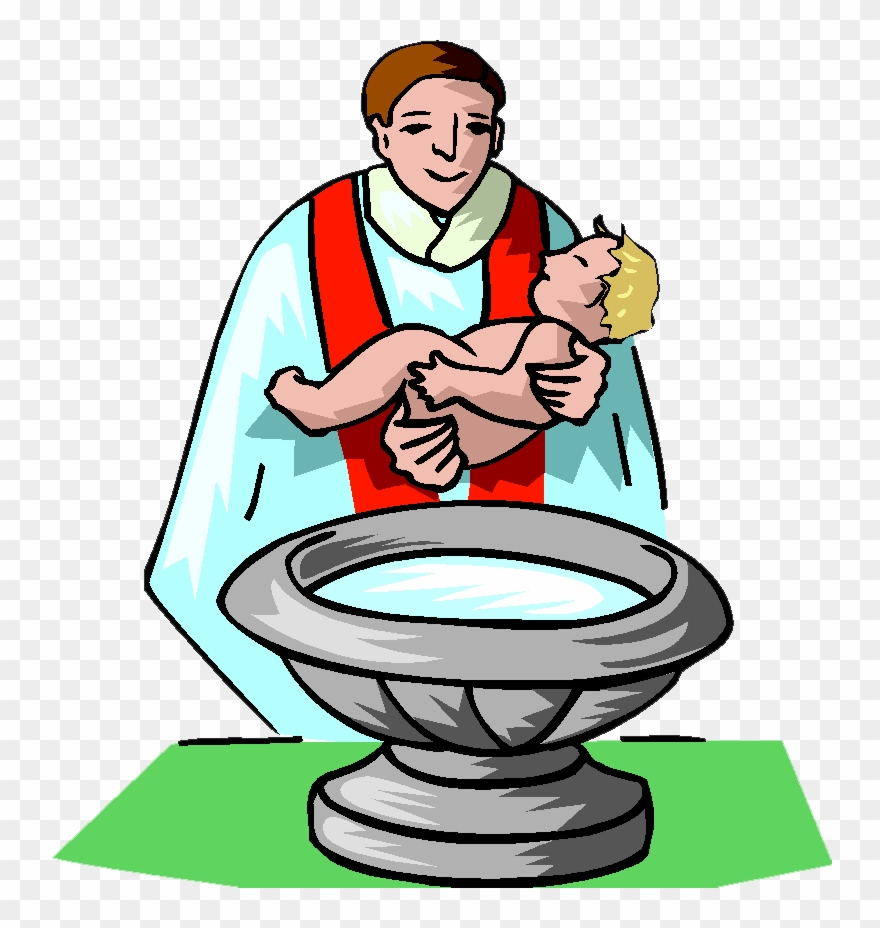 Free christening clipart clip royalty free download Baptism Clip Art Free - Baby Getting Baptized Clipart - Png Download ... clip royalty free download