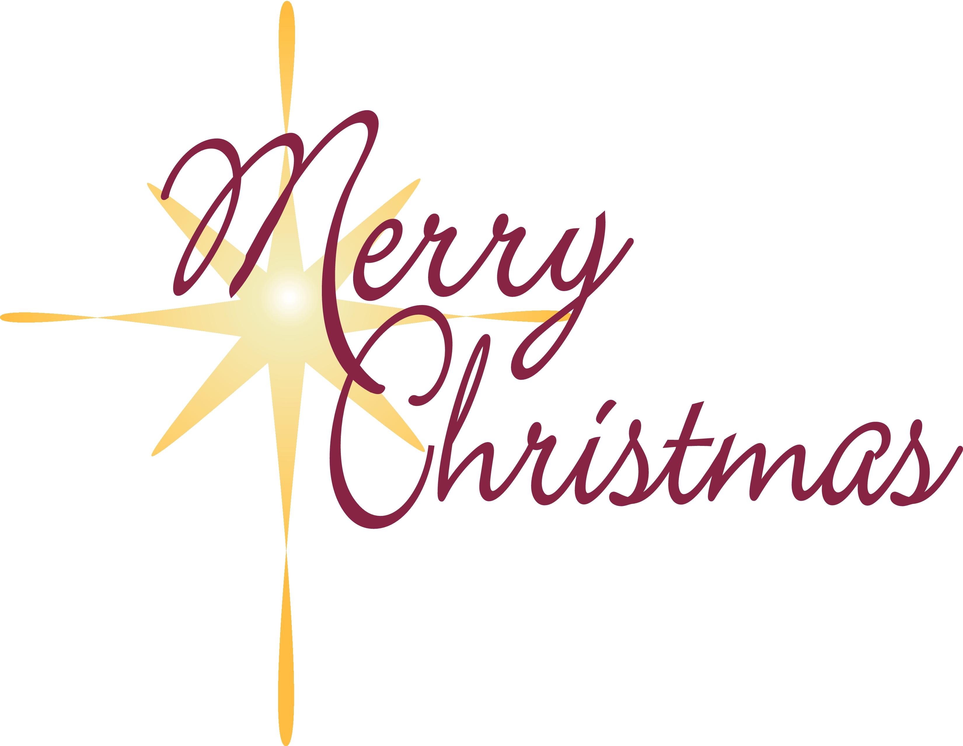 Free christian clipart for christmas banner black and white Christian Christmas Word Clip Art free image banner black and white
