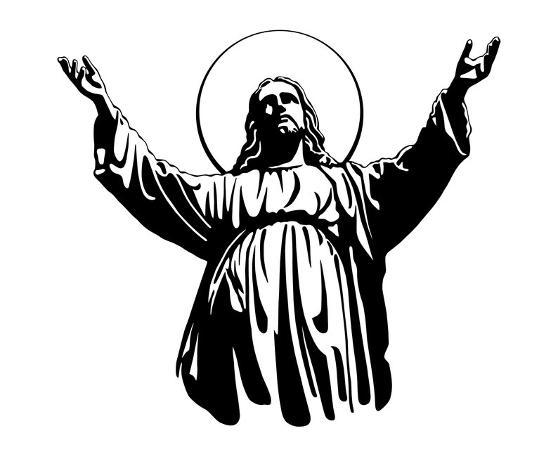 Free christian clipart jesus as the potter black and white stock Jesus Face Drawing | Free download best Jesus Face Drawing on ... black and white stock