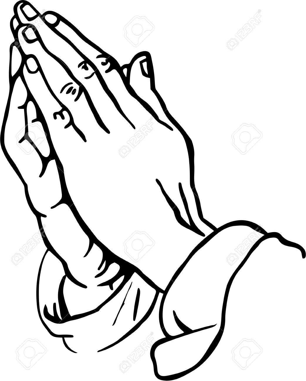 Free christian clipart praying hands jpg free library Praying Hands Namaste Clipart Collection Of Free Silhouette Png - AZPng jpg free library