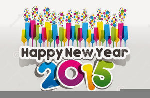 Free christian happy new year clipart