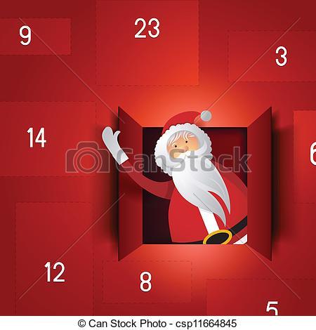 Free christmas advent calendar clipart royalty free stock Free christmas advent calendar clipart - ClipartFest royalty free stock