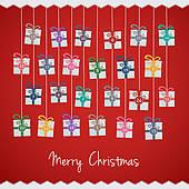 Free christmas advent calendar clipart jpg free download Advent Calendar Clip Art - Royalty Free - GoGraph jpg free download