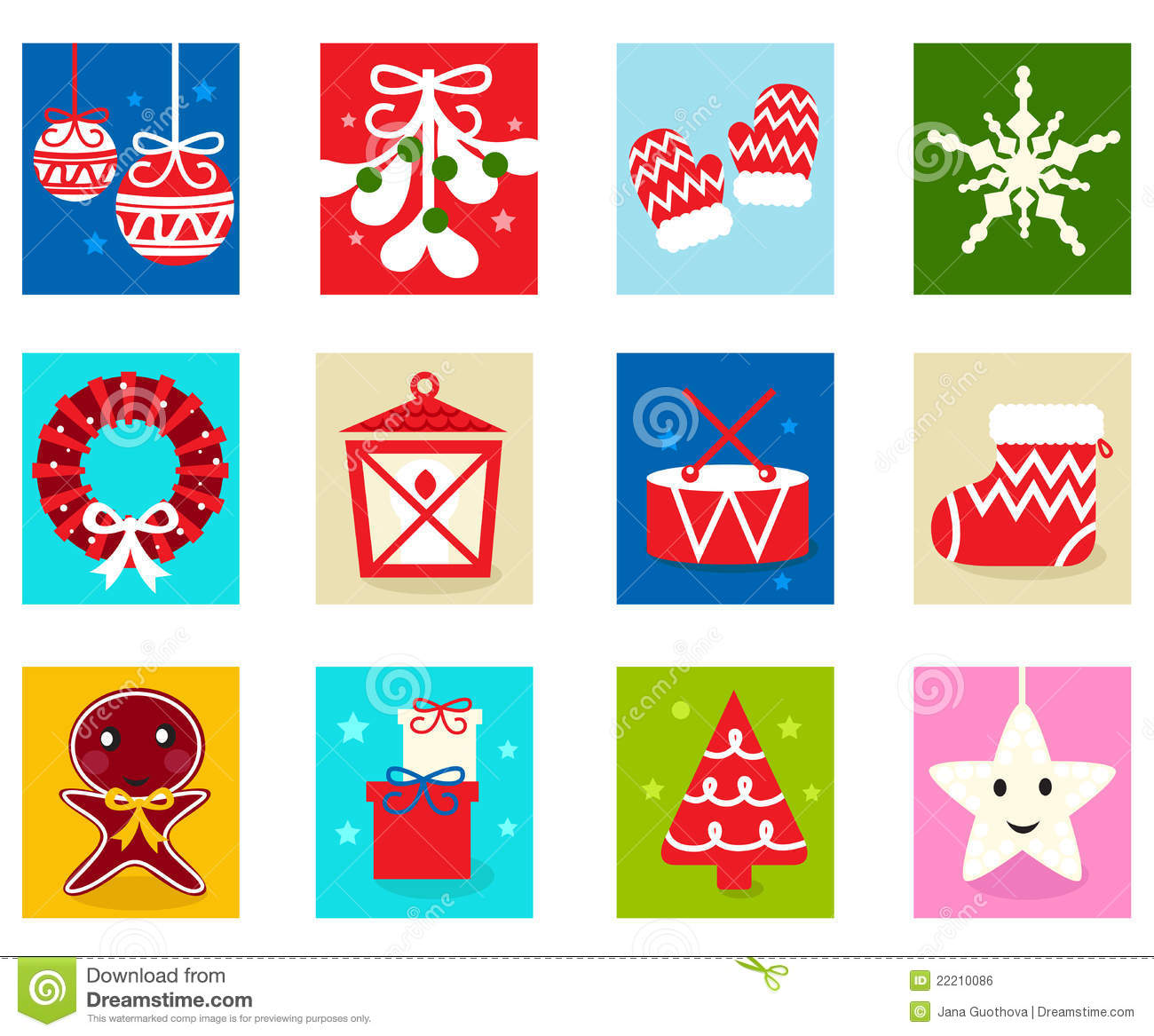 Free christmas advent calendar clipart clip black and white download Christmas Advent Calendar Elements 1 Royalty Free Stock Image ... clip black and white download