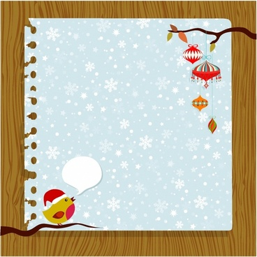 Free christmas card templates clipart. Clip art vector download