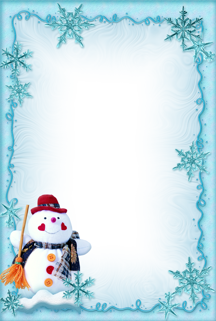 Free christmas clipart borders for word png freeuse chrismas-snowman | Gallery Yopriceville - High-Quality Images and ... png freeuse