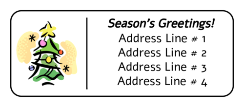Label templates download designs. Free christmas clipart for address labels