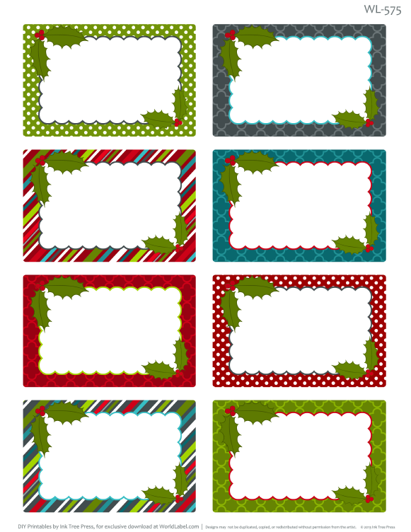 Free christmas clipart labels picture library stock Christmas Clipart For Return Address Labels | Free download best ... picture library stock