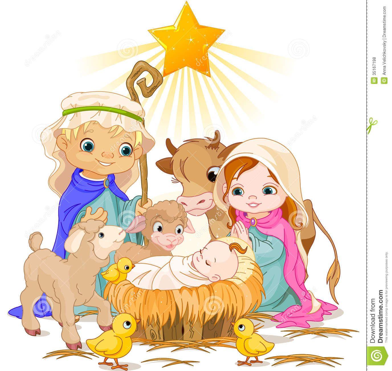Free christmas clipart manger scene. Nativity clip art
