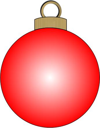 Free christmas clipart ornaments. Public domain clip art