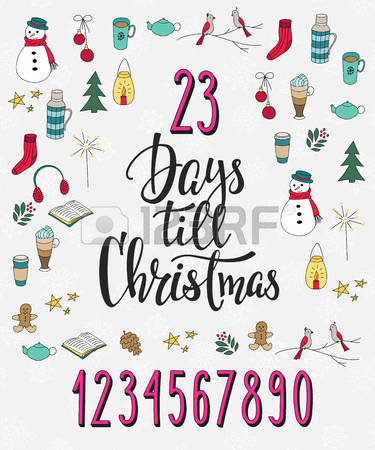 Free christmas countdown clipart svg stock 4,780 Christmas Countdown Stock Illustrations, Cliparts And ... svg stock