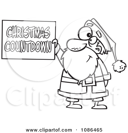 Free christmas countdown clipart jpg library download Royalty-Free (RF) Christmas Countdown Clipart, Illustrations ... jpg library download