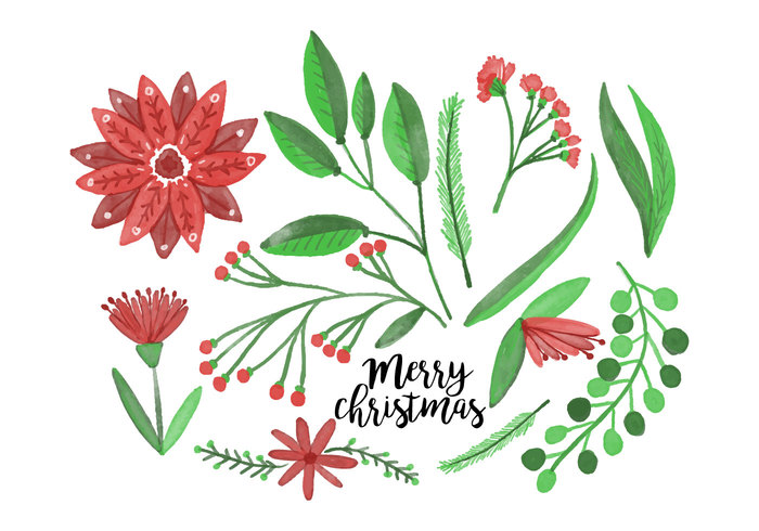 Free christmas flowers download clipart library library Free Christmas Flowers - Download Free Vector Art, Stock Graphics ... clipart library library