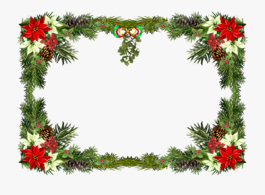 Free christmas frames and borders clipart clipart black and white library Free Printable Clip Art Borders - Merry Christmas Png Frame #248742 ... clipart black and white library