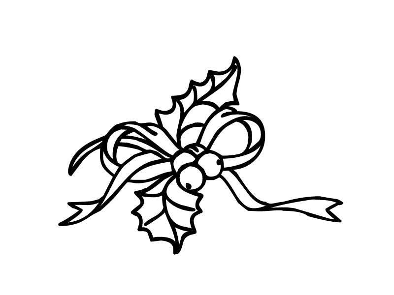 Free christmas holly clipart black and white clip transparent download Free Holly Leaves Clipart, Download Free Clip Art, Free Clip Art on ... clip transparent download