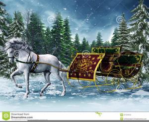 Clipart christmas horse clip freeuse stock Free Christmas Horse Sleigh Clipart | Free Images at Clker.com ... clip freeuse stock