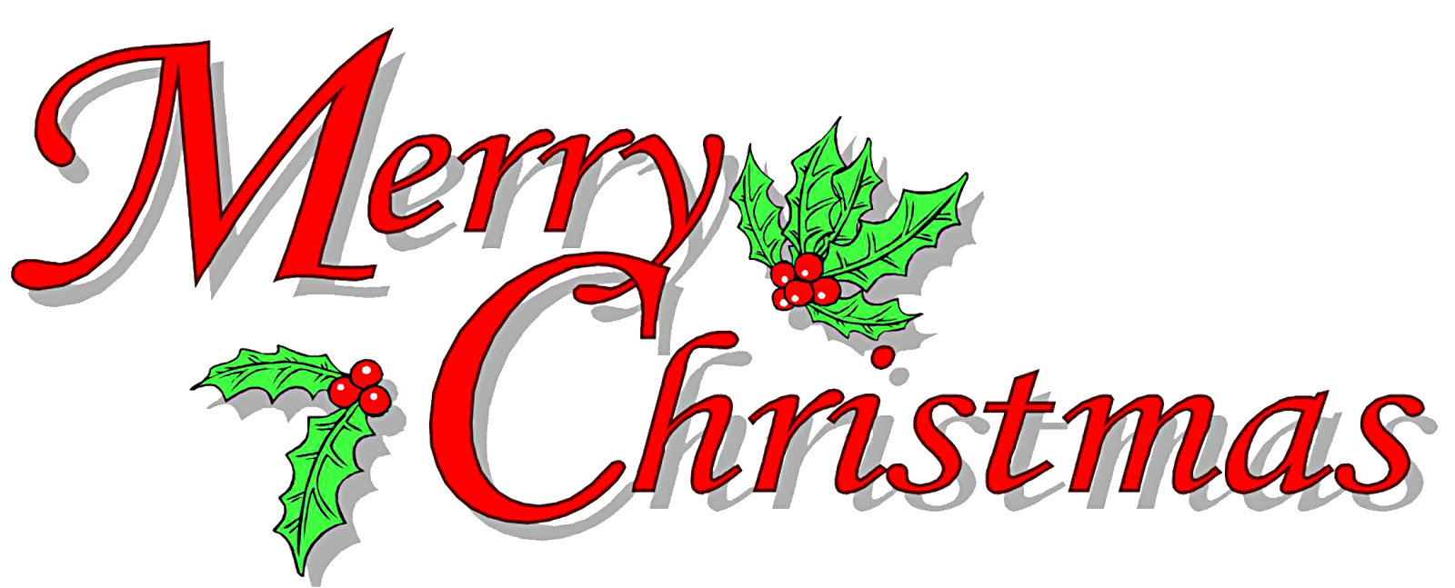 Merry christmas words clipart svg free download Free christmas message clipart - ClipartFest svg free download