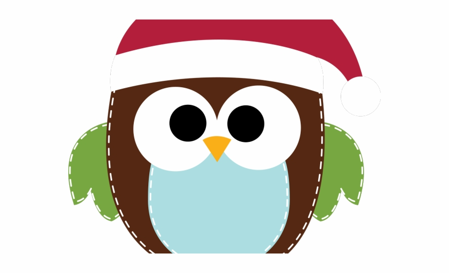 Free christmas owl clipart picture freeuse stock Cute Christmas Owl Clipart, Transparent Png Download For Free ... picture freeuse stock