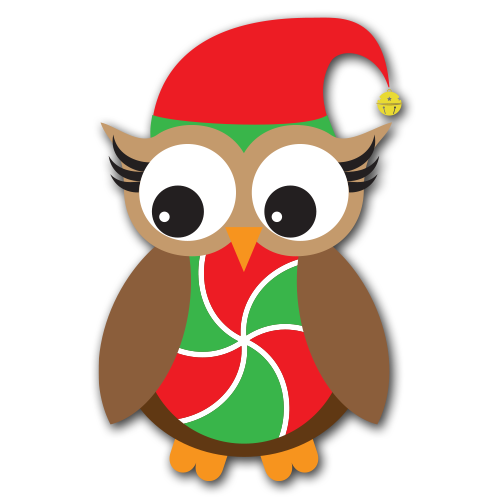 Free christmas owl clipart banner royalty free Free Owl Christmas Cliparts, Download Free Clip Art, Free Clip Art ... banner royalty free