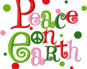 Free christmas peace on earth clipart clipart black and white library Free Peaceful Christmas Cliparts, Download Free Clip Art, Free Clip ... clipart black and white library