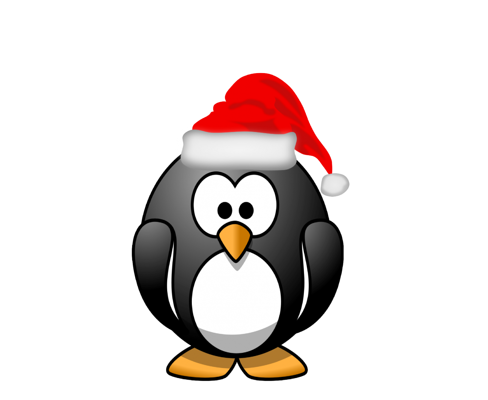 Free christmas penguin clipart image freeuse library Free Christmas Penguin Wallpaper Best Of Download Awesome Linux ... image freeuse library