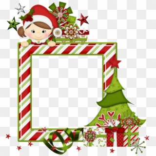 Free christmas photo frame elves clipart black and white stock Christmas Elves PNG Images, Free Transparent Image Download - Pngix black and white stock