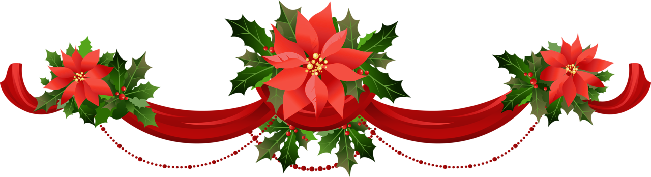 Free christmas poinsettia border clipart. Cliparts download clip art
