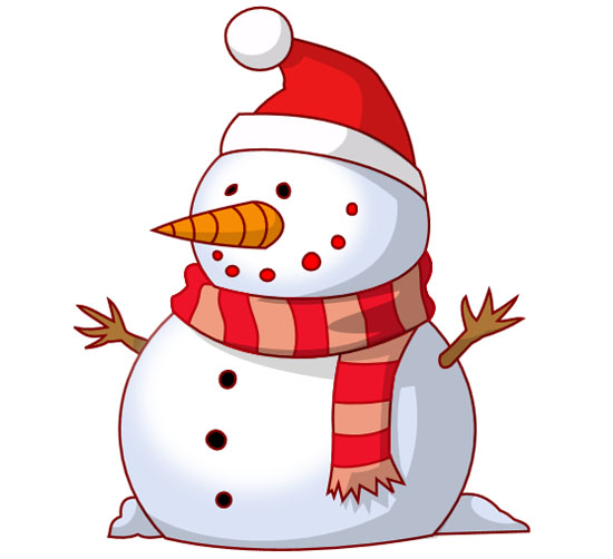 Free christmas snowman clipart graphic library Merry Christmas Snowman Clipart - Free Vector Site | Download Free ... graphic library