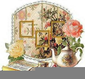 Free christmas tea clipart. Victorian images at clker