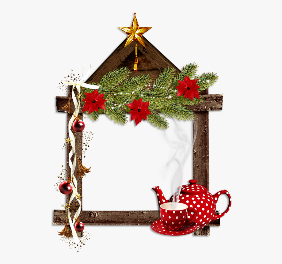 Free christmas tea clipart. Letters border