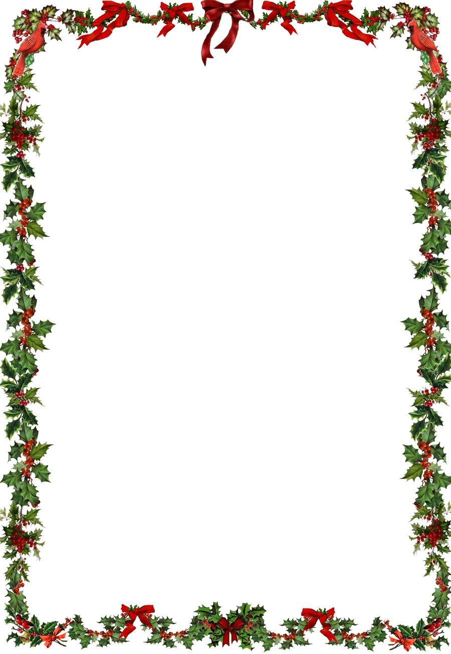 Free christmas wreath border clipart graphic transparent download Christmas Clipart Top Border | Free download best Christmas Clipart ... graphic transparent download