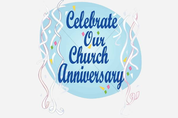 Free church anniversary clipart graphic transparent library 10+ Awesome Anniversary Clip Arts - Vector EPS, JPG, PNG Format ... graphic transparent library