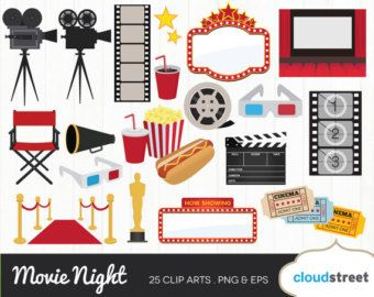 Movie theater pictures clipart
