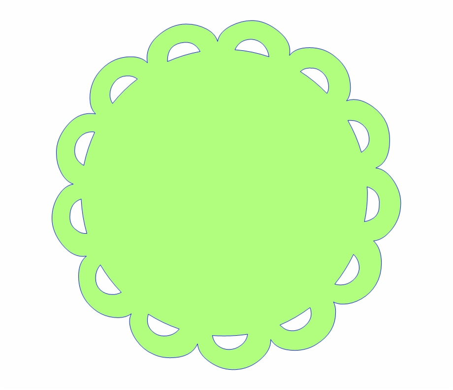 Free circle frame clipart jpg black and white Free Scalloped White Circle Frame Png - Green Circle Frame Clip Art ... jpg black and white