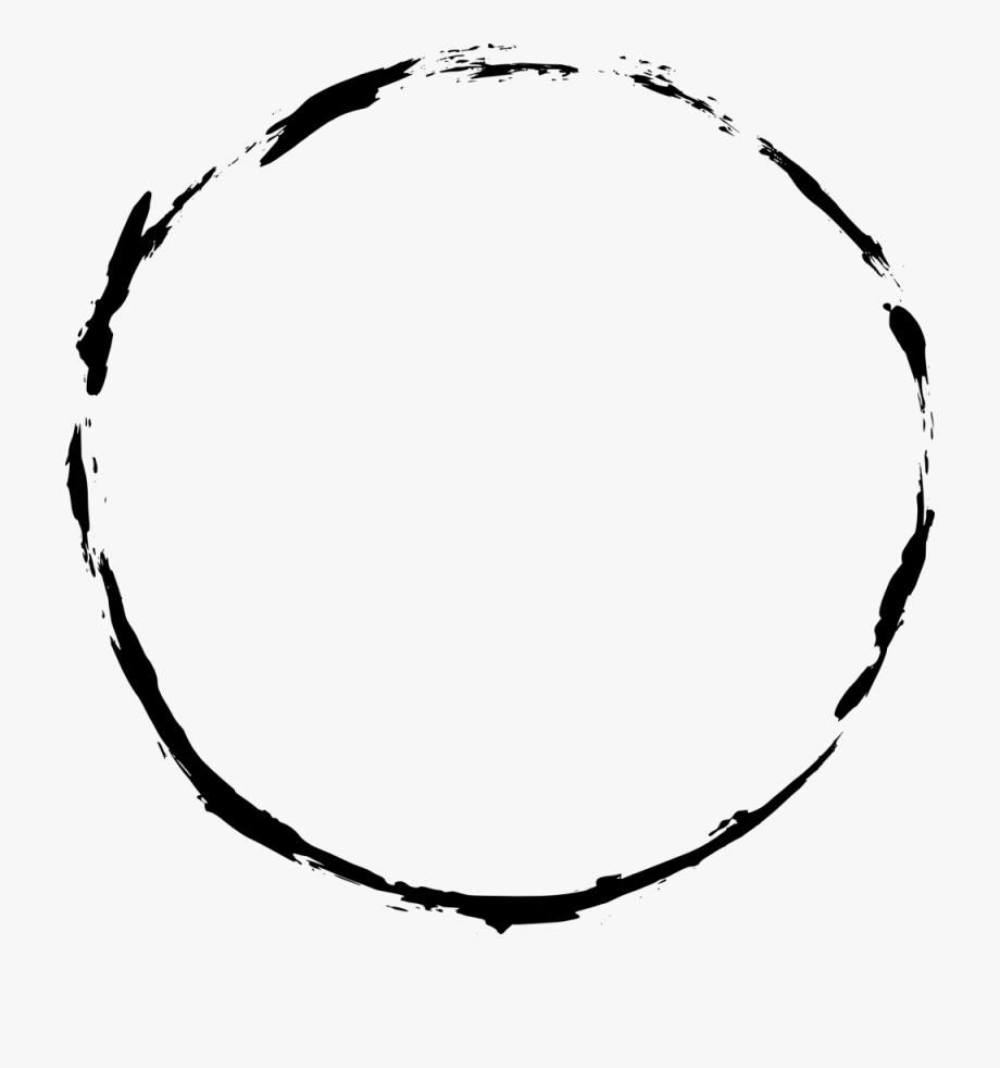 Free circle frame clipart clip stock Black Circle Frame Png - Grunge Circle Frame Png #563717 - Free ... clip stock