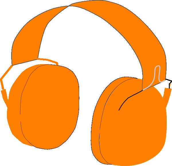 Free circular pumpkin clipart png royalty free Headphone Orange Clip Art at Clker.com - vector clip art online ... png royalty free