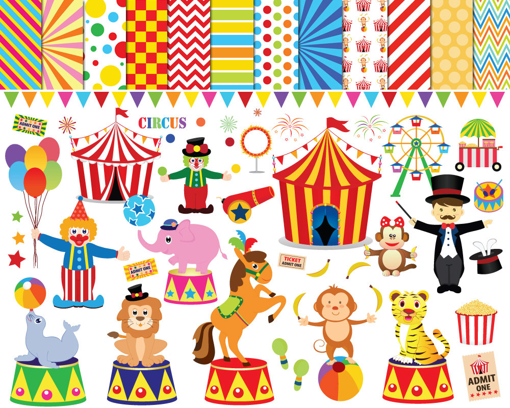 Free circus clipart images graphic black and white download Free Circus Theme Cliparts, Download Free Clip Art, Free Clip Art on ... graphic black and white download