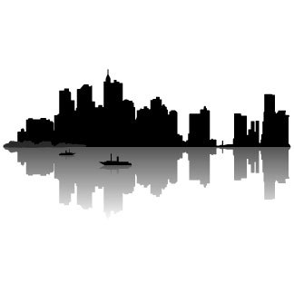 Free city skyline clipart banner freeuse stock Free city skyline clipart » Clipart Portal banner freeuse stock