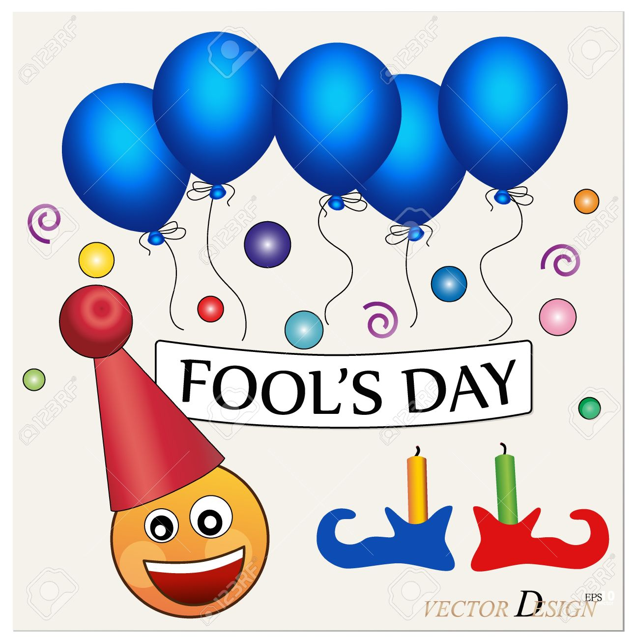 Free clip art april fools day clipart free library Fool's Day. Celebrating April Fools' Day. The Amusing Clown With ... clipart free library