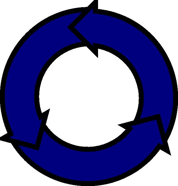 Free clip art arrow circle